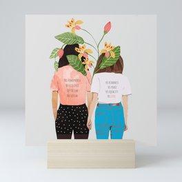 Motto #illustration #concept #painting Mini Art Print