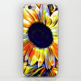 Blushing Sunflower iPhone Skin