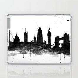 London, black and white Laptop & iPad Skin