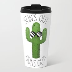 Sun's Out Guns Out! Travel Mug