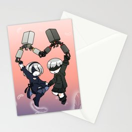 Mechanical Love Stationery Cards