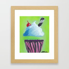0 Calorie Delight Framed Art Print