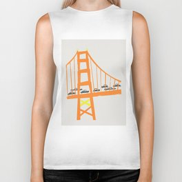 Golden Gate Bridge Biker Tank