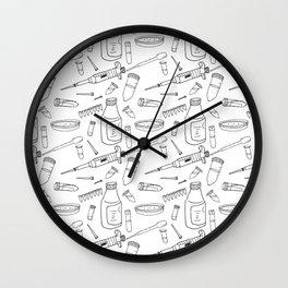 lab bench Wall Clock