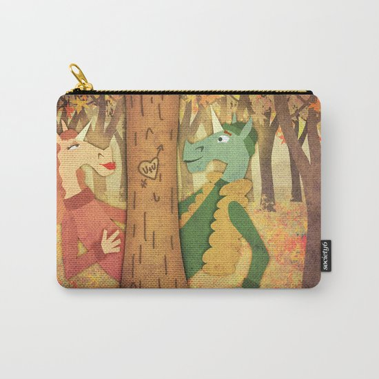 Falling for U Carry-All Pouch