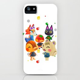 Animal Crossing Villagers iPhone Case