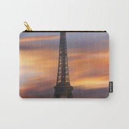 Eiffel tower at sunrise Carry-All Pouch