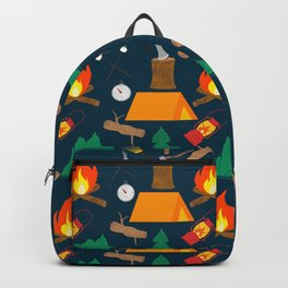 Let's Explore The Great Outdoors - Dark Blue Backpack