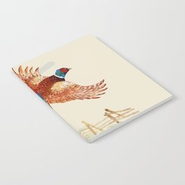 male pheasant Notebook