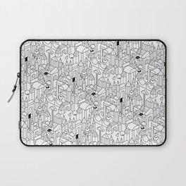 Little Escher's Building Blocks Laptop Sleeve