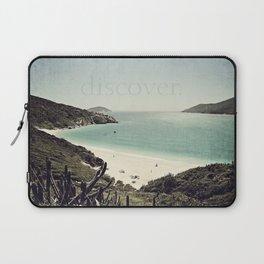 discover. {Arraial do Cabo Laptop Sleeve