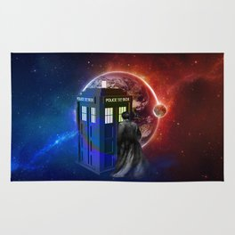 Tardis Dr Who of Nebula Rug