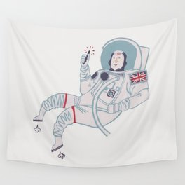 Tim Peake Wall Tapestry