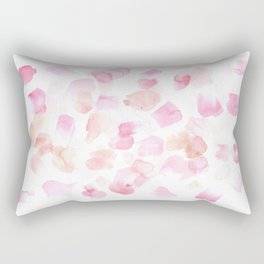 180527 Abstract Watercolour 3 | Watercolor Brush Strokes Rectangular Pillow