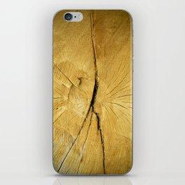 Oak Wood iPhone Skin