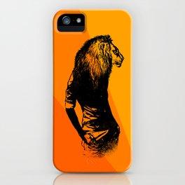 Iron Lion Zion iPhone Case