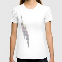 glitch T-shirts featuring glitch by Gabriele Omar Lakhal