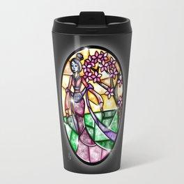 Stained Glass Mulan Travel Mug