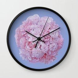 pantone2016 flower Wall Clock