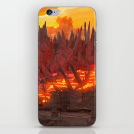 Landscape Volcano iPhone Skin