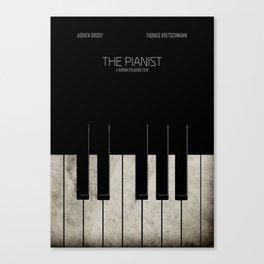 The Pianist - Minimal Canvas Print