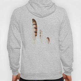 Feathers | Barn Owl | Watercolor Hoody