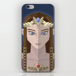 The Princess of Hyrule iPhone Skin