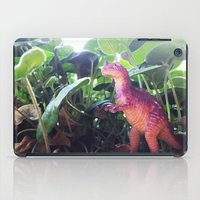 dinosaur iPad Cases featuring Dinosaur by cafelab