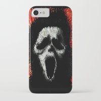 scream iPhone & iPod Cases featuring Scream by brett66