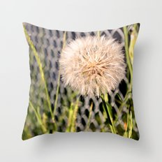 Oversized Puff - Ready to break apart and fly away. Throw Pillow