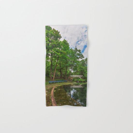 Jean-Drapeau Arch Pond Hand & Bath Towel