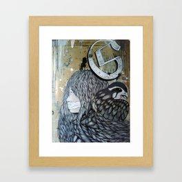 St. Genevieve Framed Art Print