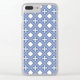 Chinese Tile Clear iPhone Case