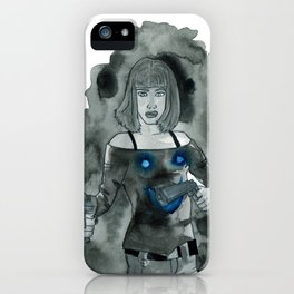 Guns to a Knife Fight iPhone Case