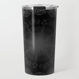 Dark Mandala #1 Travel Mug