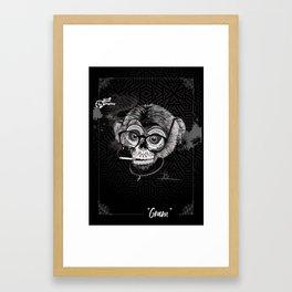 Auntie Gram Framed Art Print