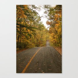 Hilly Canvas Print