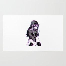 Anime Schoolgirl Rug