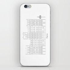 Untapped Paris iPhone & iPod Skin