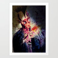 punk Art Prints featuring Punk by Shane R. Murphy