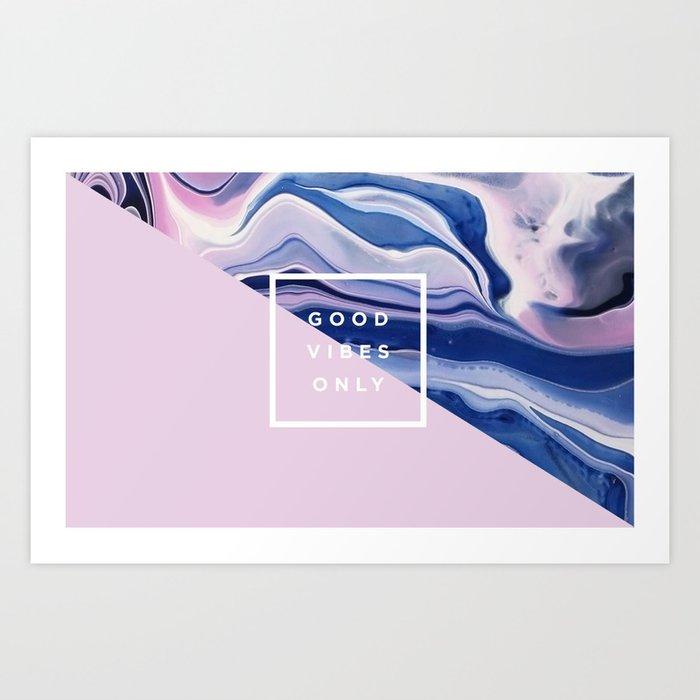 it's a vibe   bleu's creations Art Print