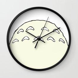 Totoro's Belly Wall Clock