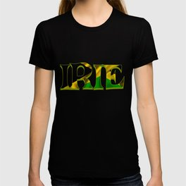 Jamaican Patois Slang Gift for Jamaica Tourists, Reggae, Rasta Roots and Culture Heritage Fans T-shirt