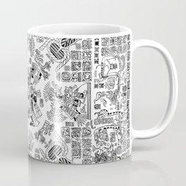 Mayan Spring B&W Coffee Mug