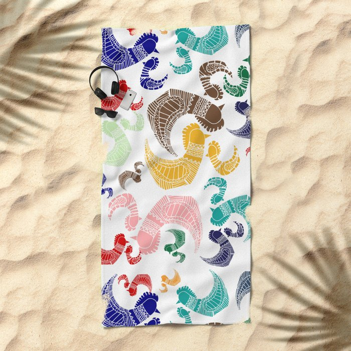 Rooster´s Beach Towel