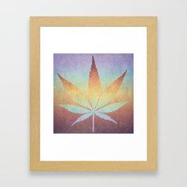 Somewhere over the rainbow, way up high Framed Art Print