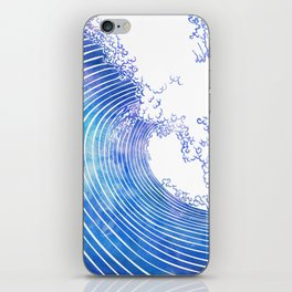 Pacific Waves III iPhone Skin