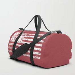 The Flag of the  USA with Rusty Effect II Duffle Bag