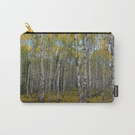Trembling Aspen's in the Fall, Jasper National Park Carry-All Pouch