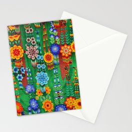 Colorful beaded Indian jewelry Stationery Cards